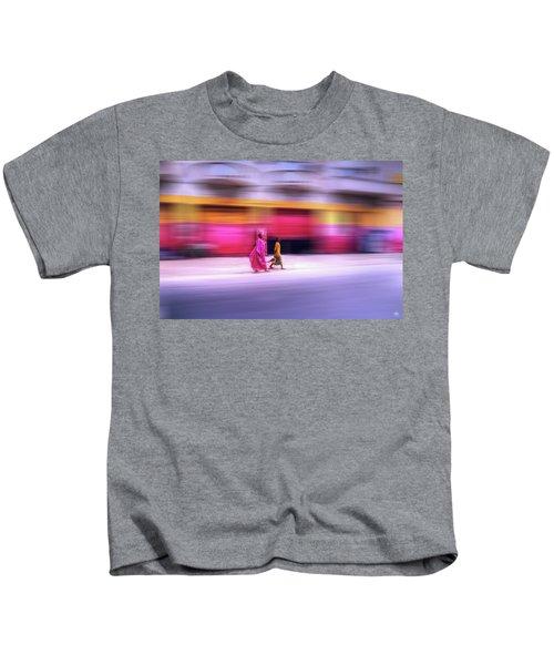 In Sync In Senegal Kids T-Shirt
