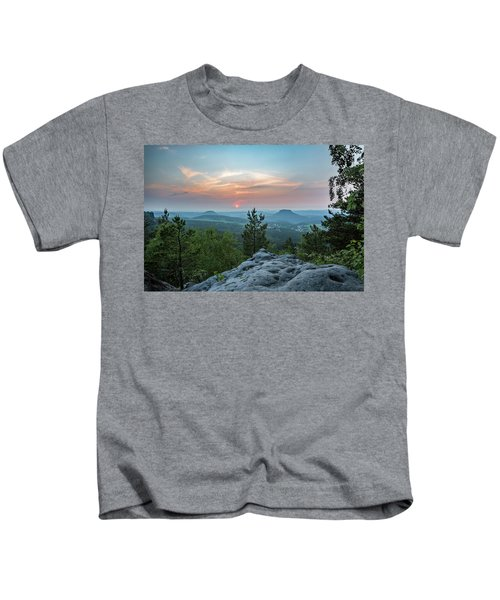 In The Land Of Mesas Kids T-Shirt