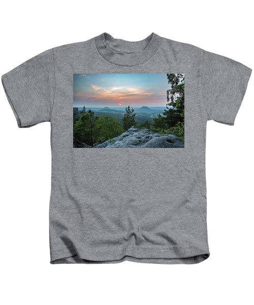 In The Land Of Mesas Kids T-Shirt