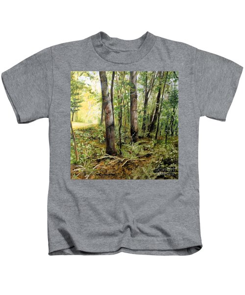 In The Shaded Forest  Kids T-Shirt