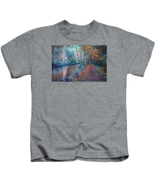 In The Stillness Of The Morning Kids T-Shirt