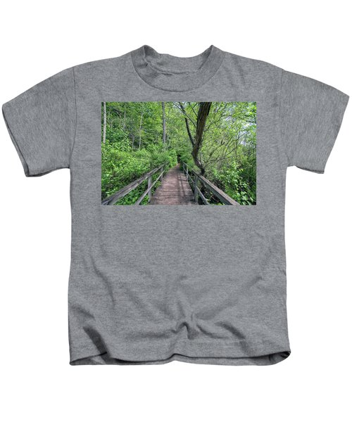 In The Trees Kids T-Shirt
