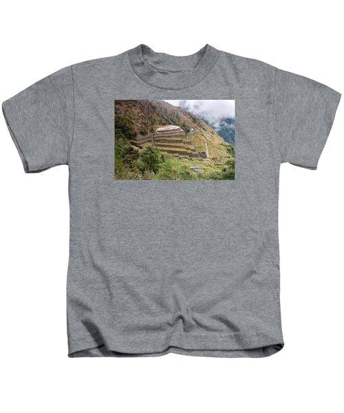 Inca Ruins And Terraces Kids T-Shirt