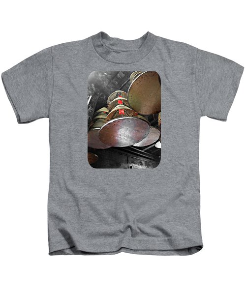 Incense Trays Kids T-Shirt by Ethna Gillespie