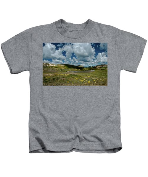 Independence Pass Summit Kids T-Shirt