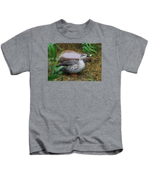 Indian Spot-billed Duck Kids T-Shirt