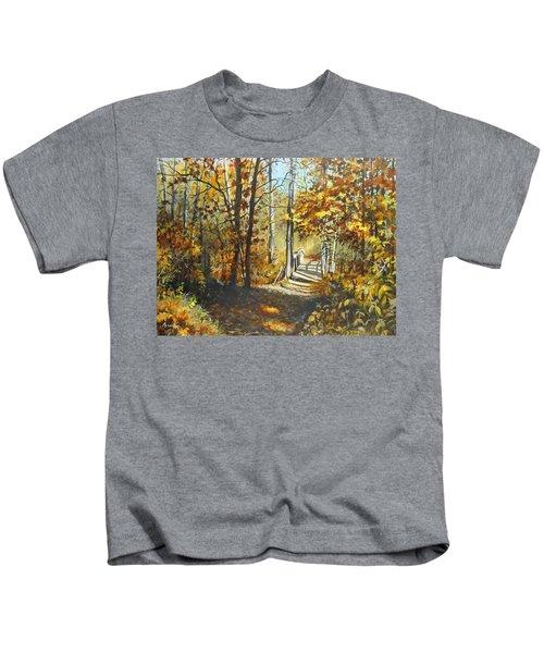 Indian Summer Trail Kids T-Shirt