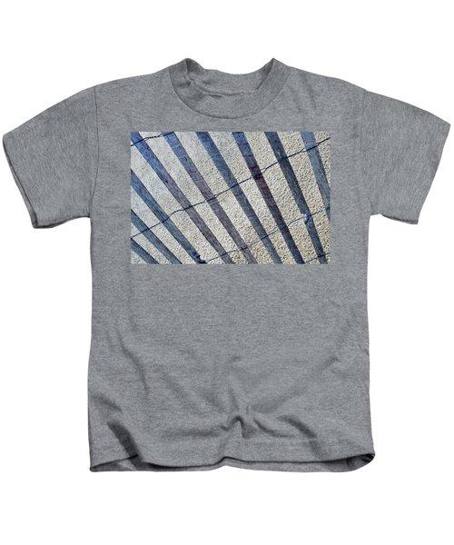 Indiana Dunes Beach Fence Kids T-Shirt