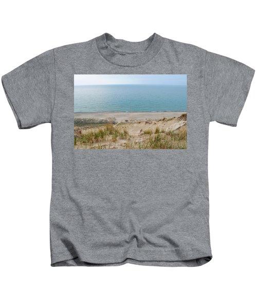Indiana Dunes National Lakeshore Evening Kids T-Shirt
