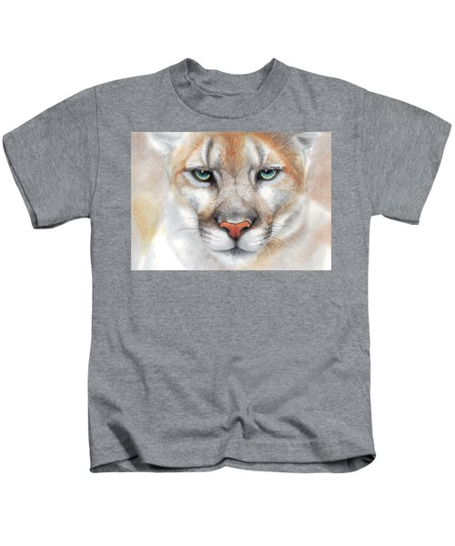 Intensity - Mountain Lion - Puma Kids T-Shirt