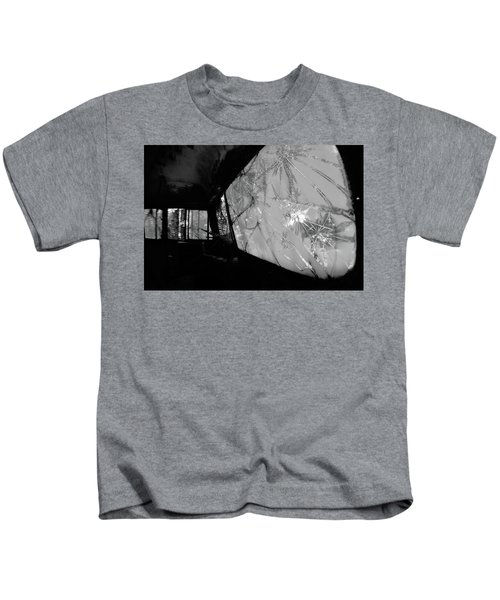 Kids T-Shirt featuring the photograph Interior In Gray by Matthew Mezo