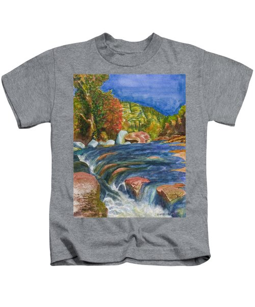 Into Slide Rock Kids T-Shirt