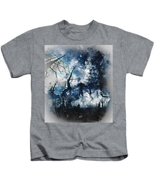 Into The Darkness - 01 Kids T-Shirt