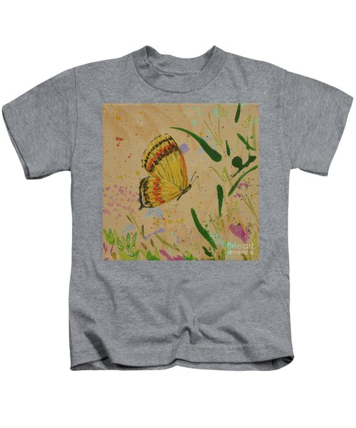 Island Butterfly Series 1 Of 6 Kids T-Shirt