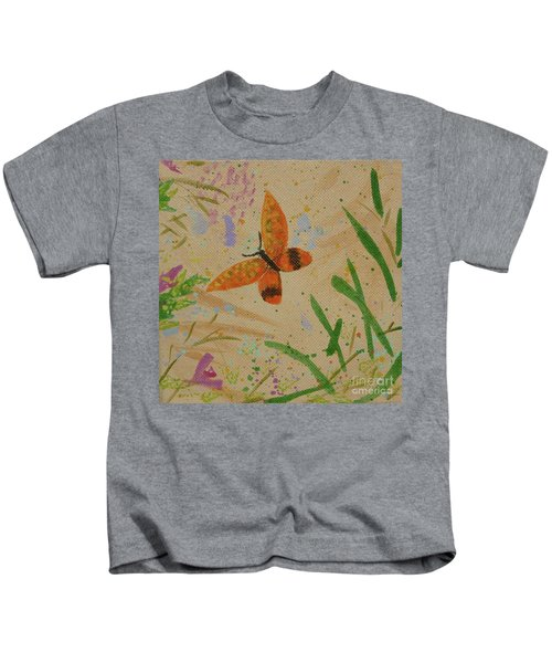 Island Butterfly Series 3 Of 6 Kids T-Shirt