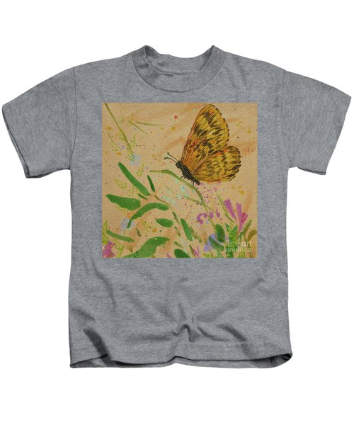 Island Butterfly Series 4 Of 6 Kids T-Shirt