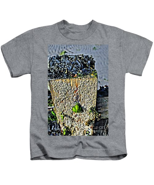 Isle Of Man Low Tide Kids T-Shirt
