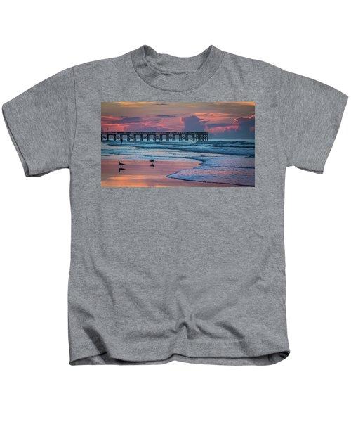 Isle Of Palms Morning Kids T-Shirt