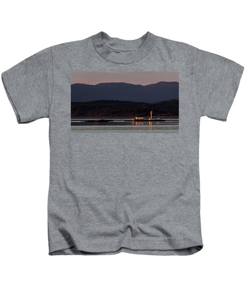 Isolated Lighthouse Kids T-Shirt