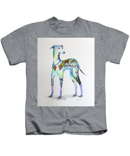 Italian Greyhound Tattoo Dog Kids T-Shirt
