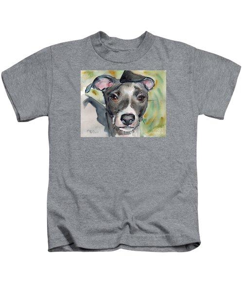 Italian Greyhound Watercolor Kids T-Shirt
