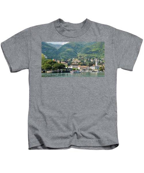 Italian Village On Lake Como Kids T-Shirt