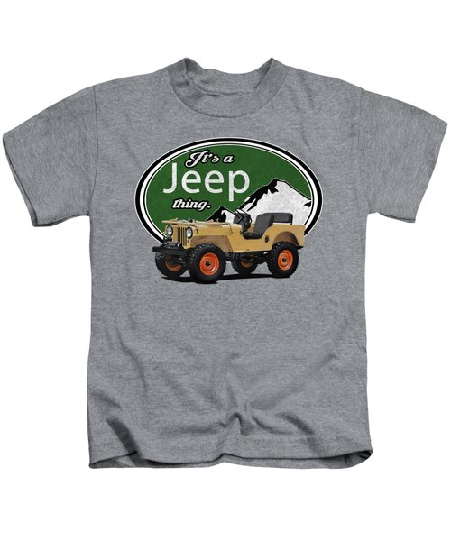 It's A Jeep Thing Kids T-Shirt