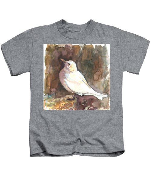 Ivory Gull Kids T-Shirt