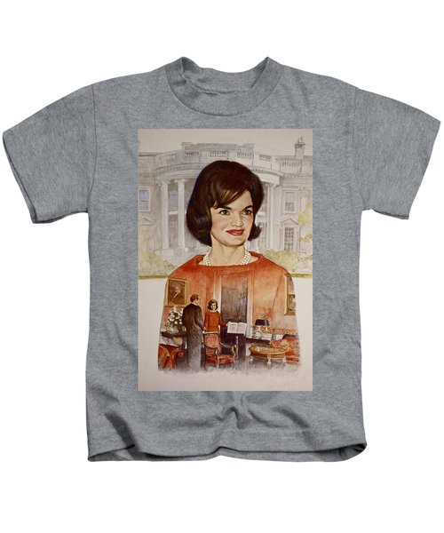 Jacqueline Kennedy Onassis  Kids T-Shirt