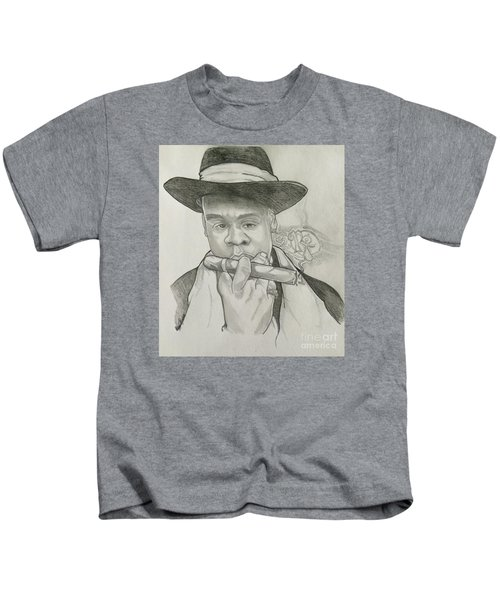 Jay-z Reasonable Doubt 20th Kids T-Shirt by Gregory Taylor