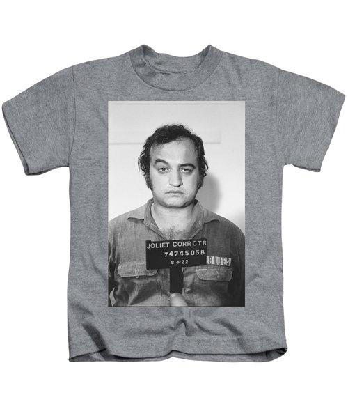 John Belushi Mug Shot For Film Vertical Kids T-Shirt