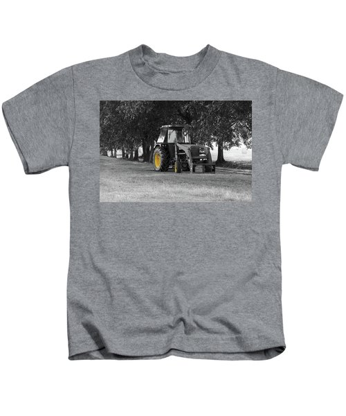 John Deere 620 In Selective Color Kids T-Shirt
