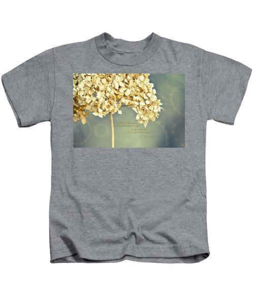 John Lennon Love Kids T-Shirt