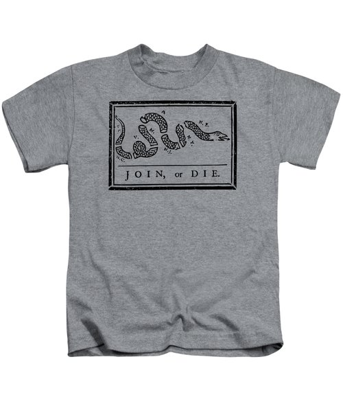 Join Or Die Kids T-Shirt