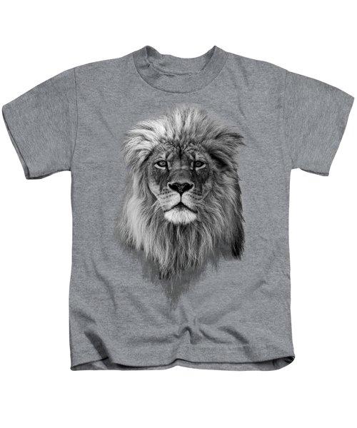 Joshua In Black And White Kids T-Shirt