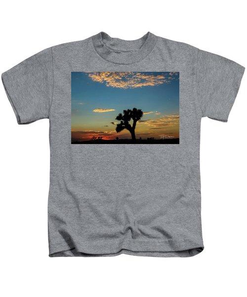 Joshua Sunset Kids T-Shirt