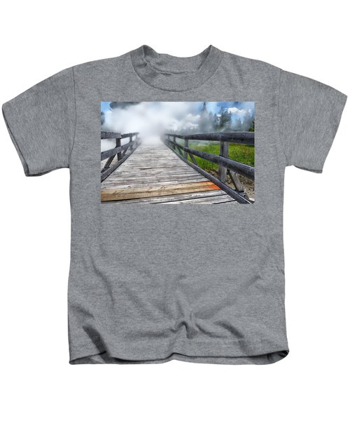 Journey Into The Unknown Kids T-Shirt