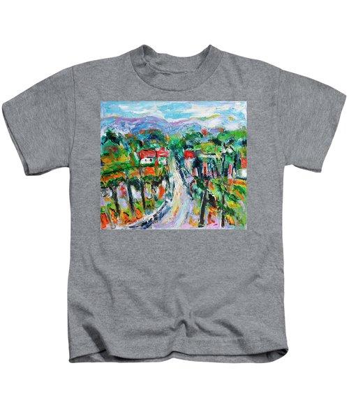 Journey Through The Vines Kids T-Shirt