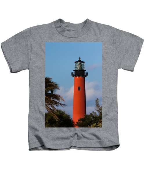 Jupiter Inlet Lighthouse Kids T-Shirt