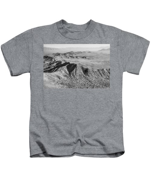 Kabul Mountainous Urban Sprawl Kids T-Shirt