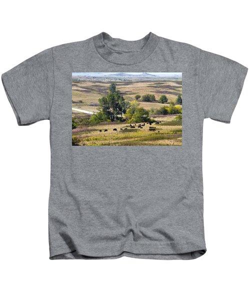 Kansas Plains  Kids T-Shirt