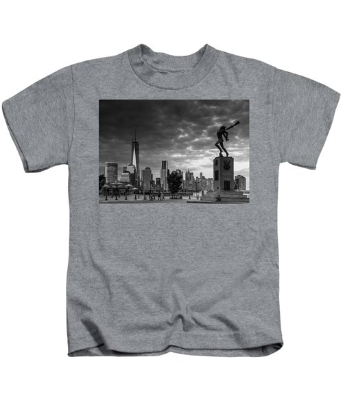 Katyn New World Trade Center In New York Kids T-Shirt