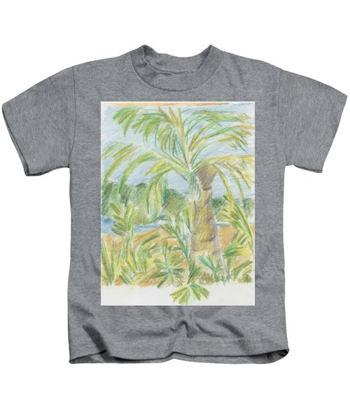 Kauai Palms Kids T-Shirt