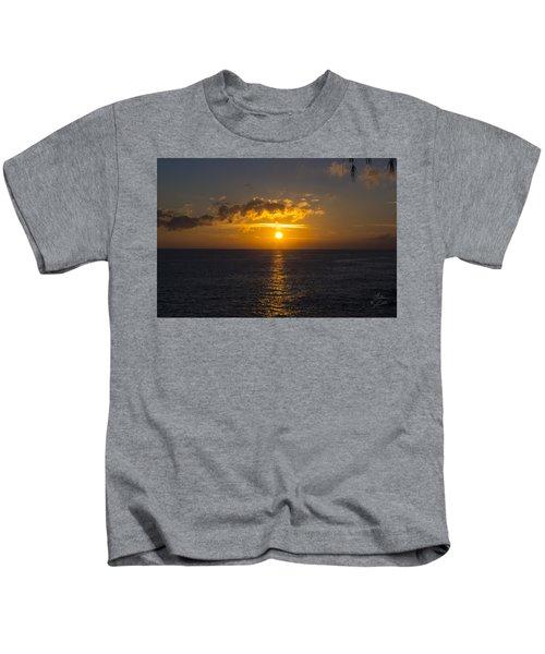 Kauai Sunset 4 Kids T-Shirt