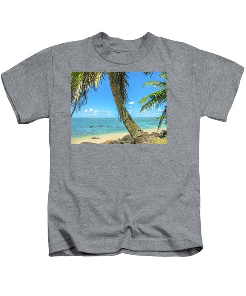 Kauai Tropical Beach Kids T-Shirt