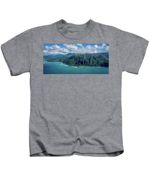 Kawaii Na Pali Coast  Kids T-Shirt
