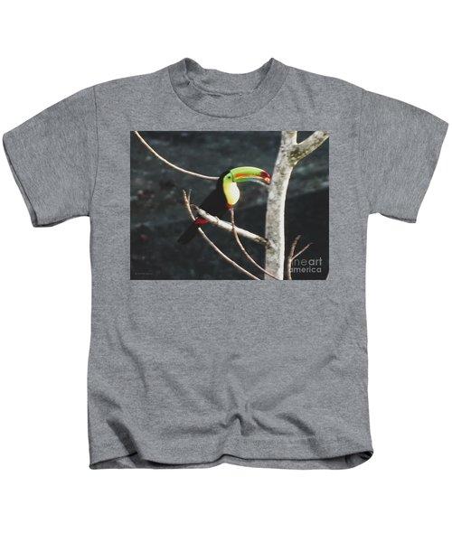 Keel-billed Toucan Kids T-Shirt