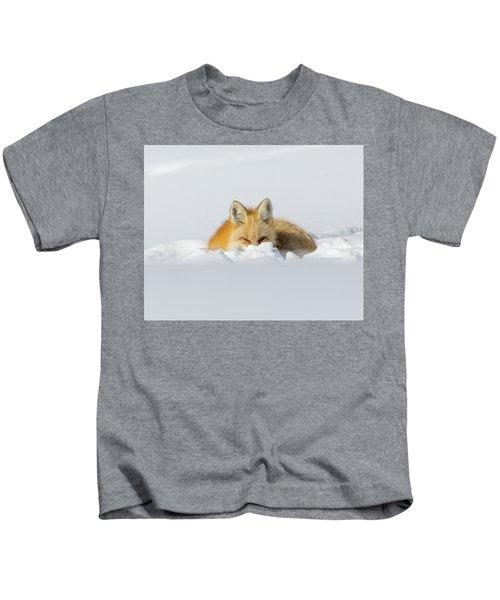 Snow Hide Kids T-Shirt