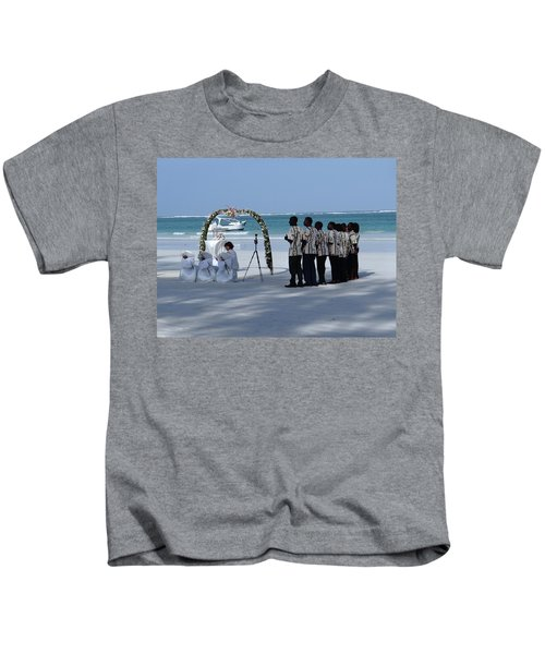 Kenya Wedding On Beach Singers Kids T-Shirt