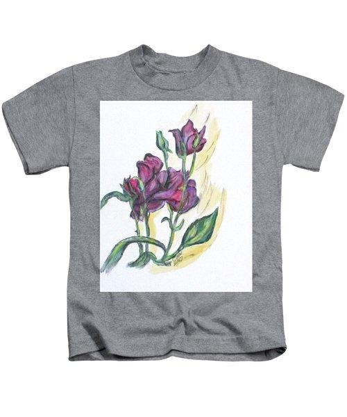 Kimberly's Spring Flower Kids T-Shirt
